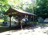 Shelter at Crockett Campsite, Camp Ma-Ka-Ja-Wan