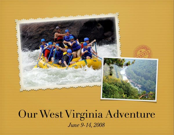 West Virginis Adventure white Water Rafting