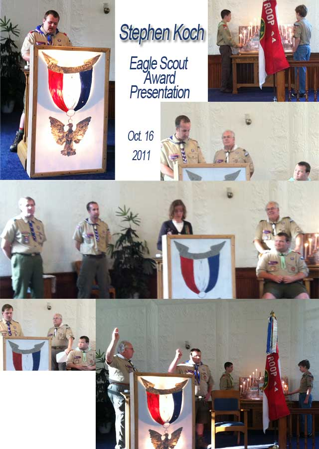 Stephen Koch Eagle Scout Presentation
