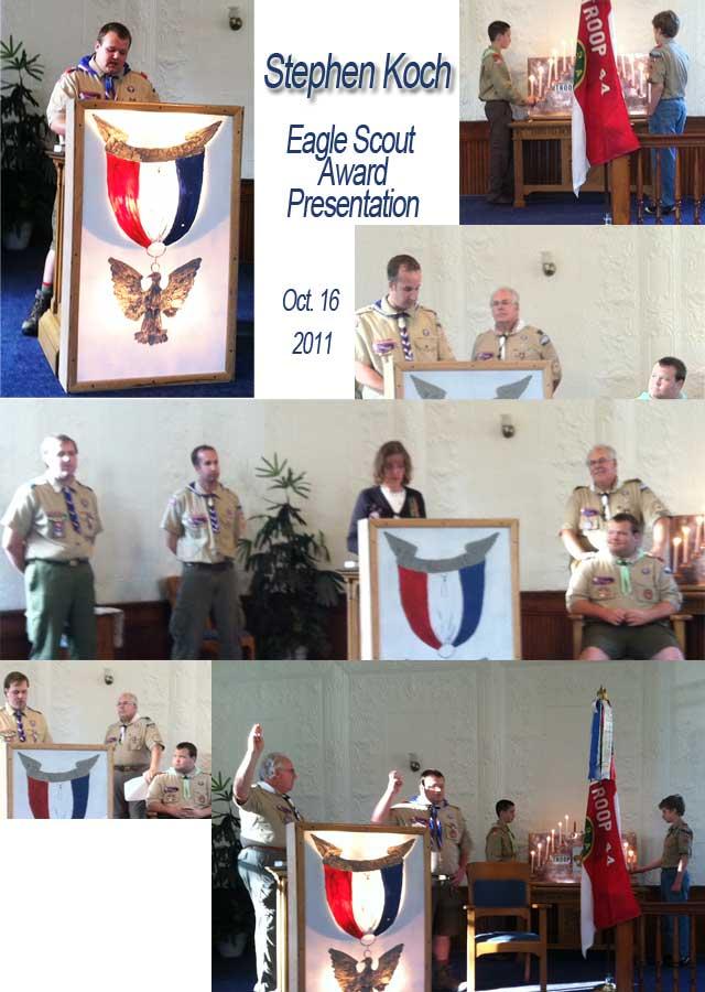 Stephen Koch Eagle Scout Presentation