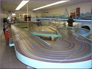 Dads Slot Cars - The Track