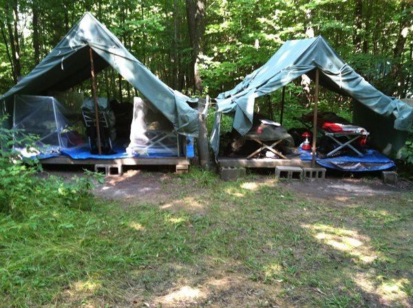Crockett C&site Tents & Camp Ma-Ka-Ja-Wan Photo Gallery