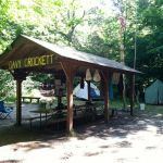 Crockett Campsite Shelter - Camp Ma-Ka-Ja-Wan, Summer 2011