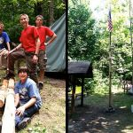 Baden Powell New Flagpole Project - Camp Ma-Ka-Ja-Wan, Summer 2011
